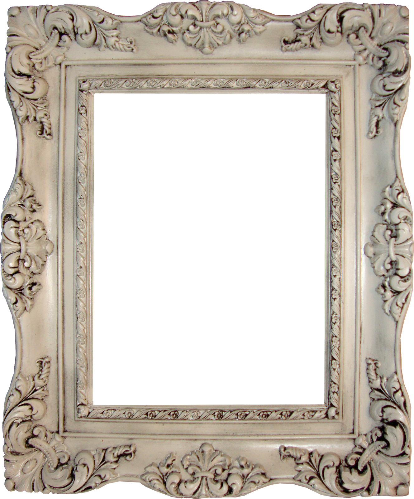 antique photo frame png