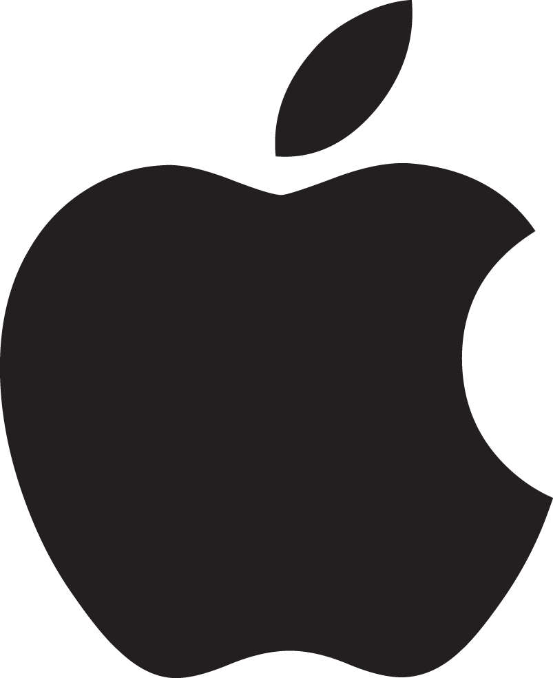 Apple Logo Download Free Png Vector image #14911