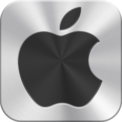 Library Icon Apple Logo
