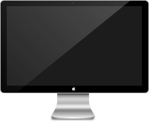 Apple Mac Computer Screen PNG image #39887