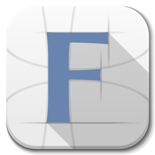 Apps Font Icon | Flatwoken Iconset | alecive