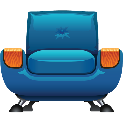 Armchair Furniture Icon Png image #2599