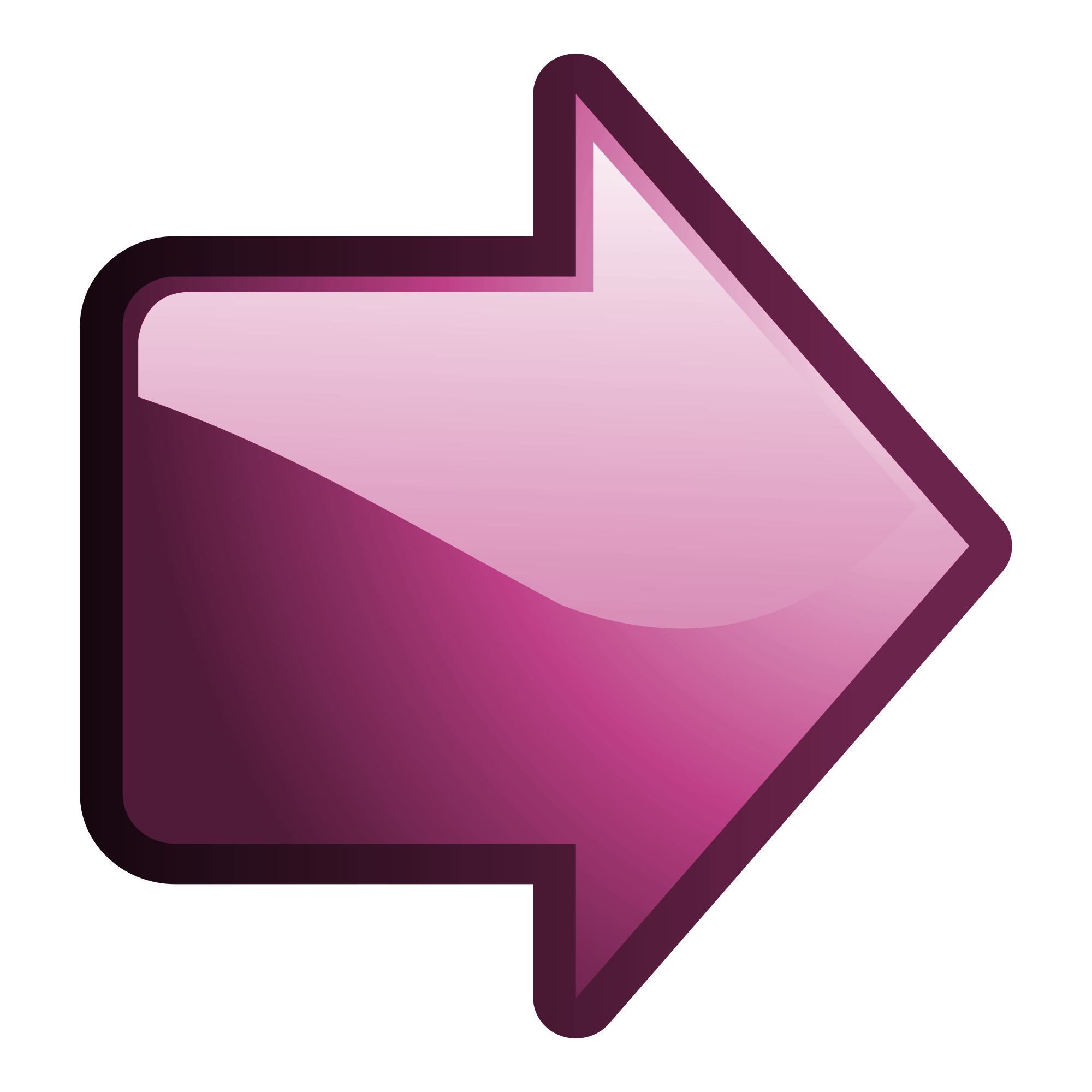 arrow right pink png