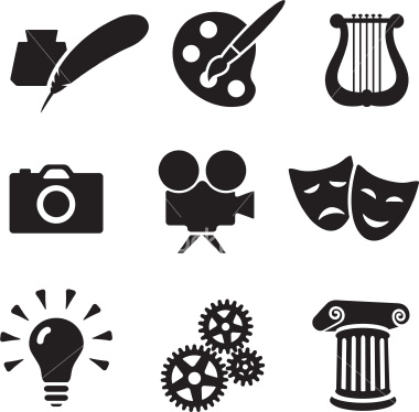 Art Icon Art icon art icon artist icon
