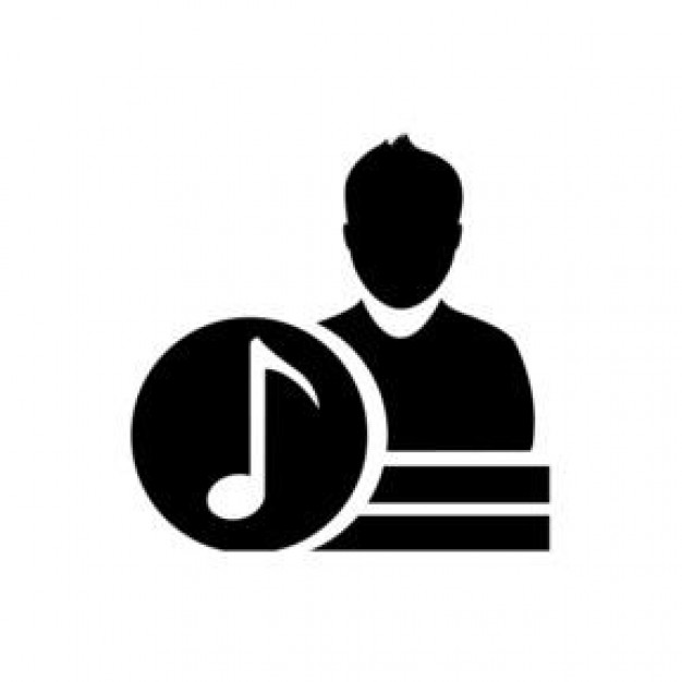 artist. music player representation Icons | Free Download