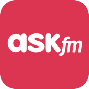 ask.fm logo pink icon