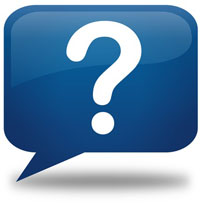 ask question icon blue