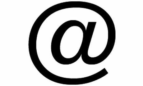 At Sign For Email At email sign icon #5693 - Free Icons and PNG ...