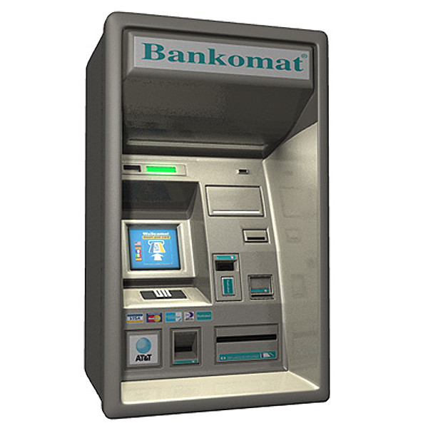 Atm, Cash Machine Icon image #33723