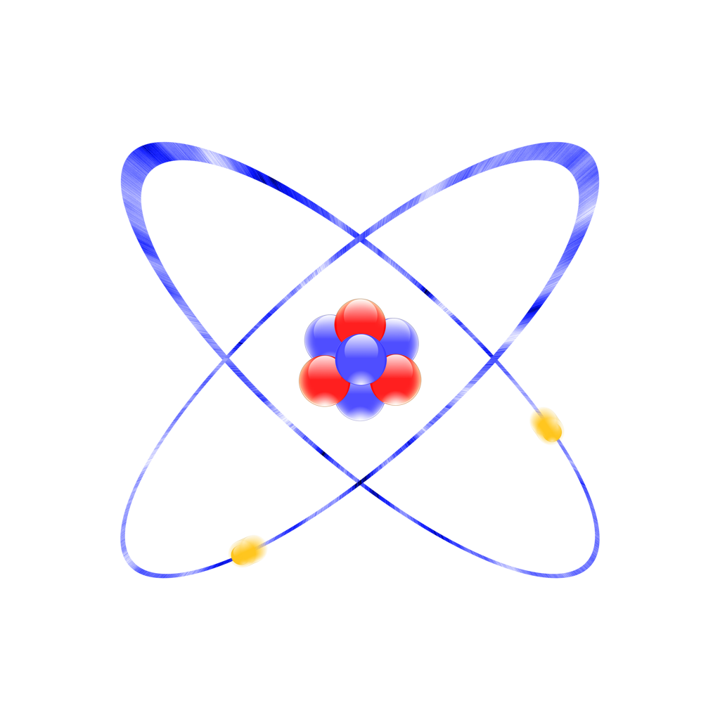 Use These Atom Vector Clipart image #27352