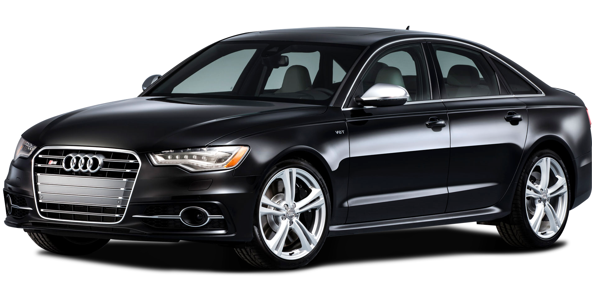 Audi A4 Car PNG Image Black Side View image #45306
