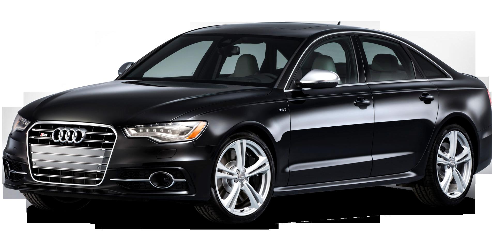 Audi A4 Car PNG image black side view