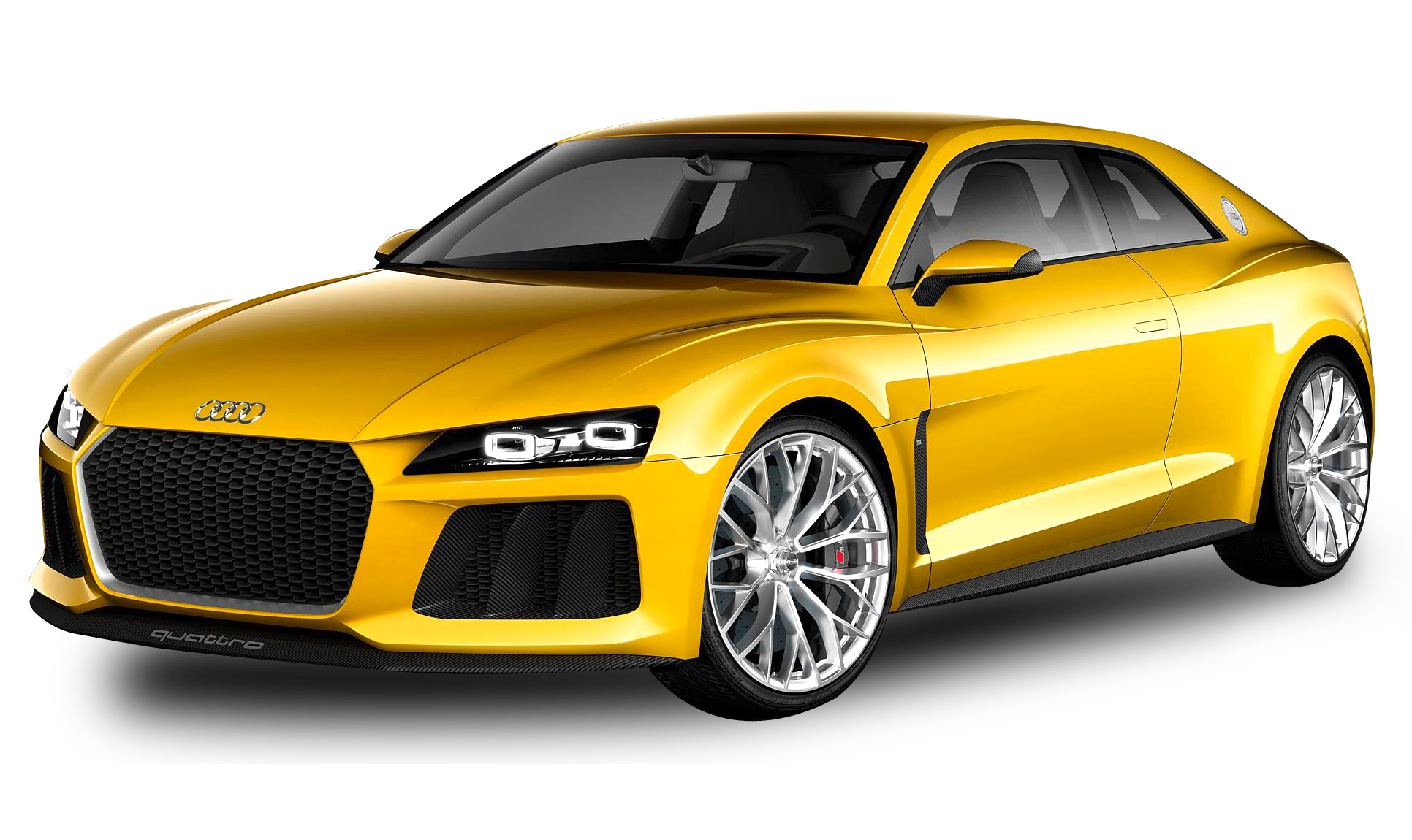 Audi Car PNG image side view