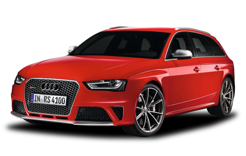 AUDI PNG car image red hatchback
