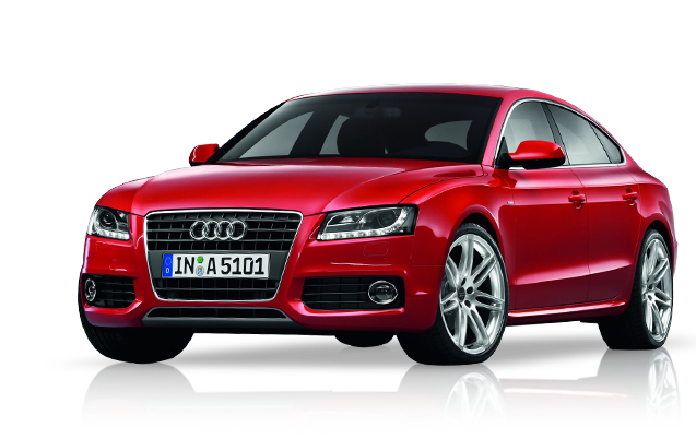 Audi PNG Red image