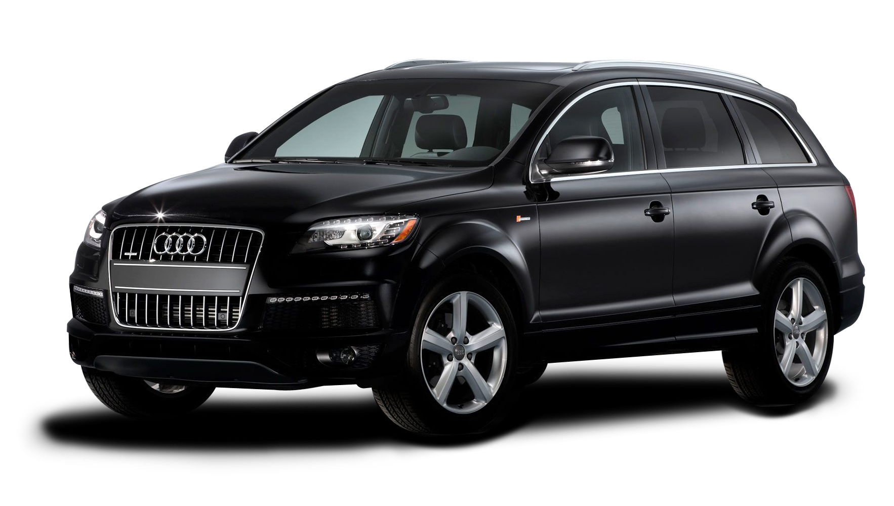 Audi Q7 Car PNG Image Black Jeep