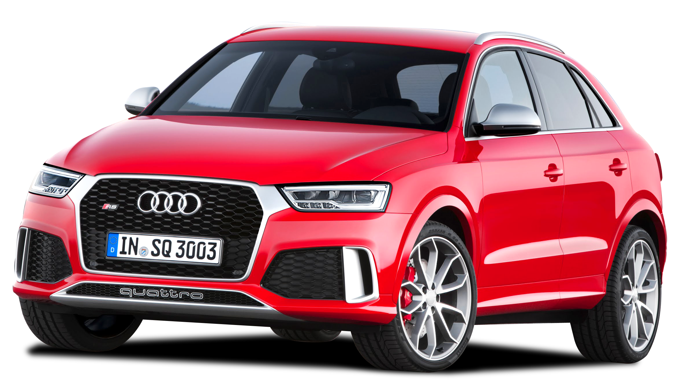 Audi RS Q3 PNG image Red Download