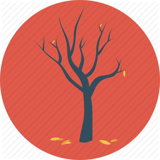 Autumn, Dead Tree, Fall, Fallen, Leaves, Tree Icon image #41727