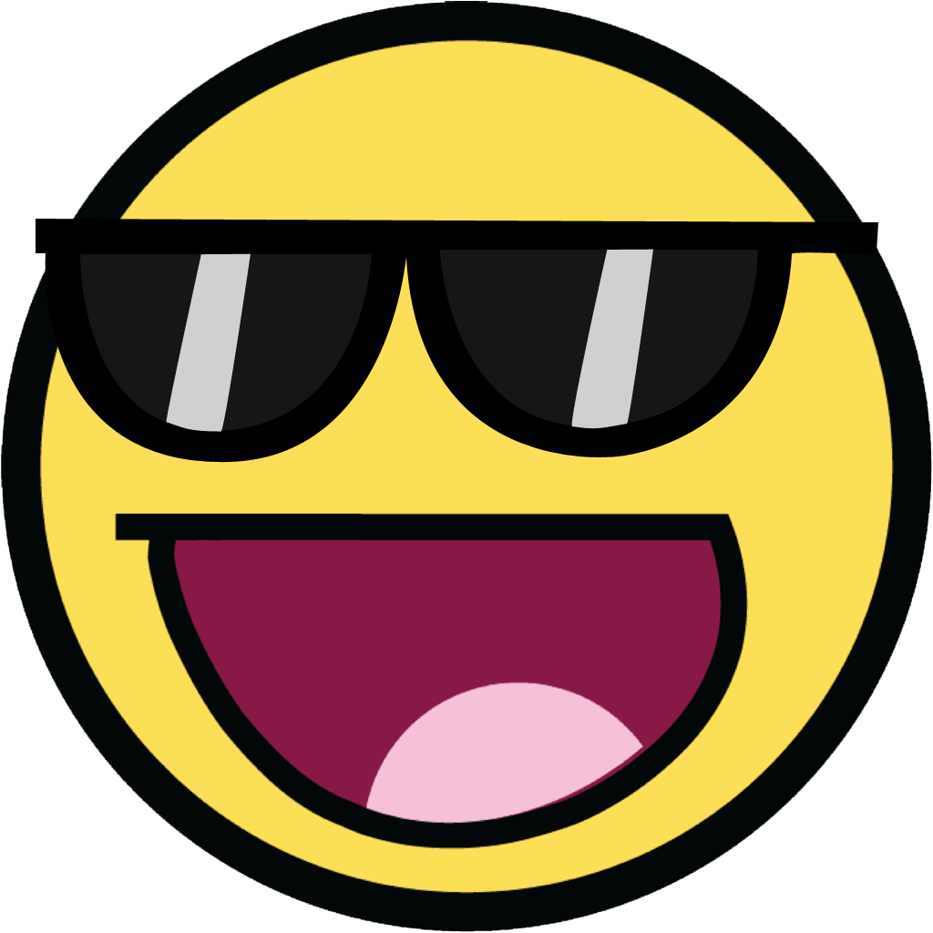 Awesome Face Png Vector image #29290