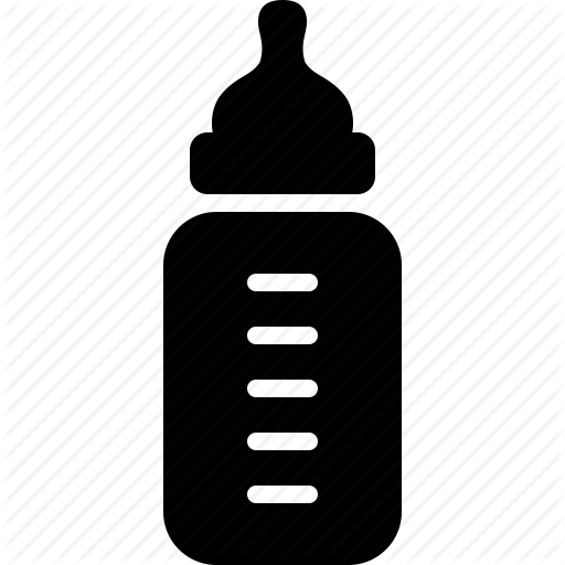 Baby Bottle Icon Size