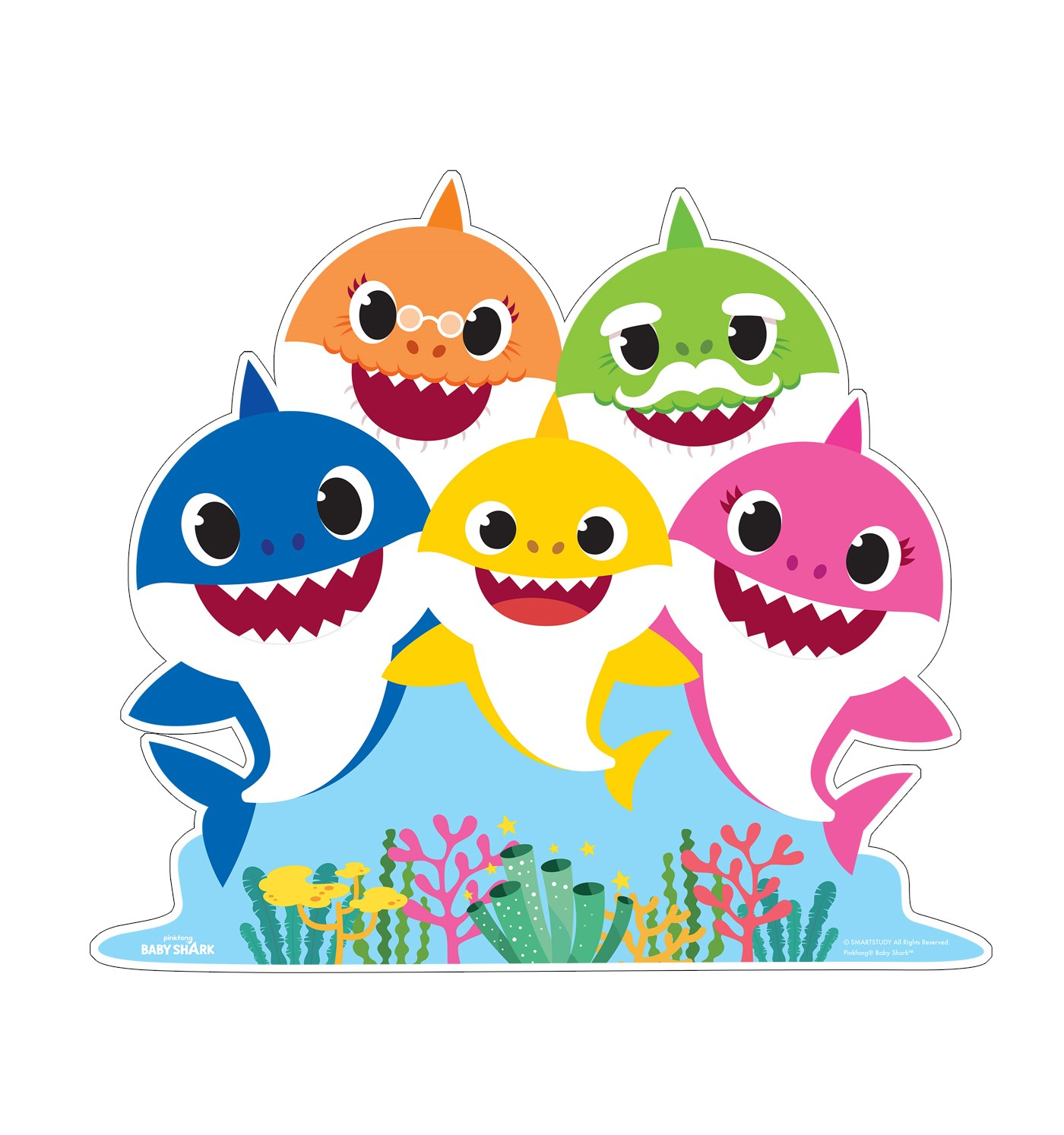 Baby Sharks PNG, sea, cartoon, animation
