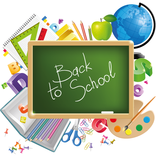 Back To School File PNG