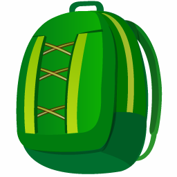 Icon Backpack Png image #21181