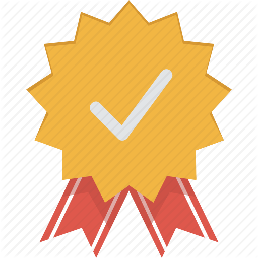 Badge, Certificate, Medal, Quality, Reward Icon  image #12502