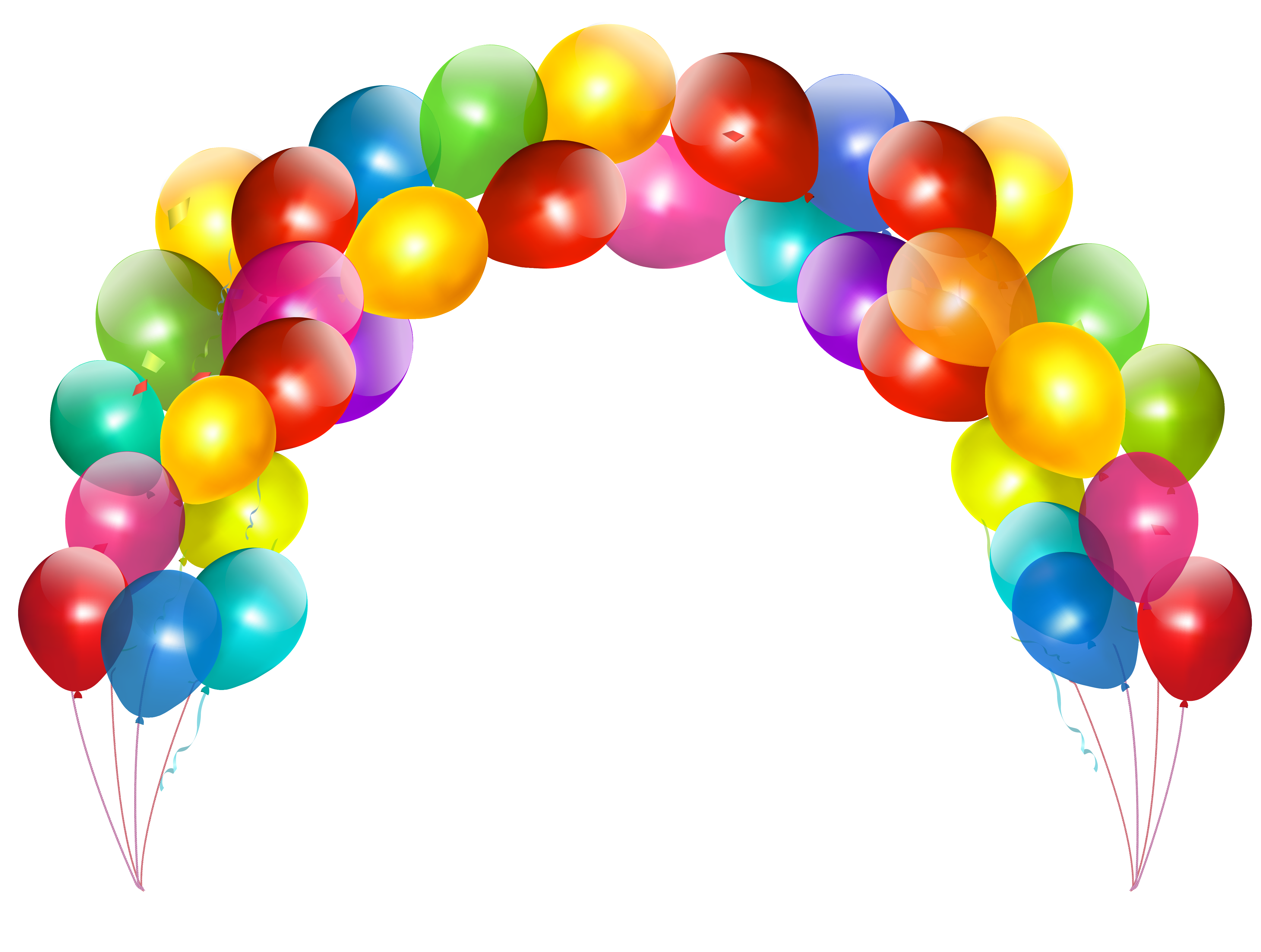 Balloon Banner Png image #28080