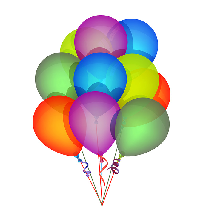 Icon Balloons Drawing image #16193