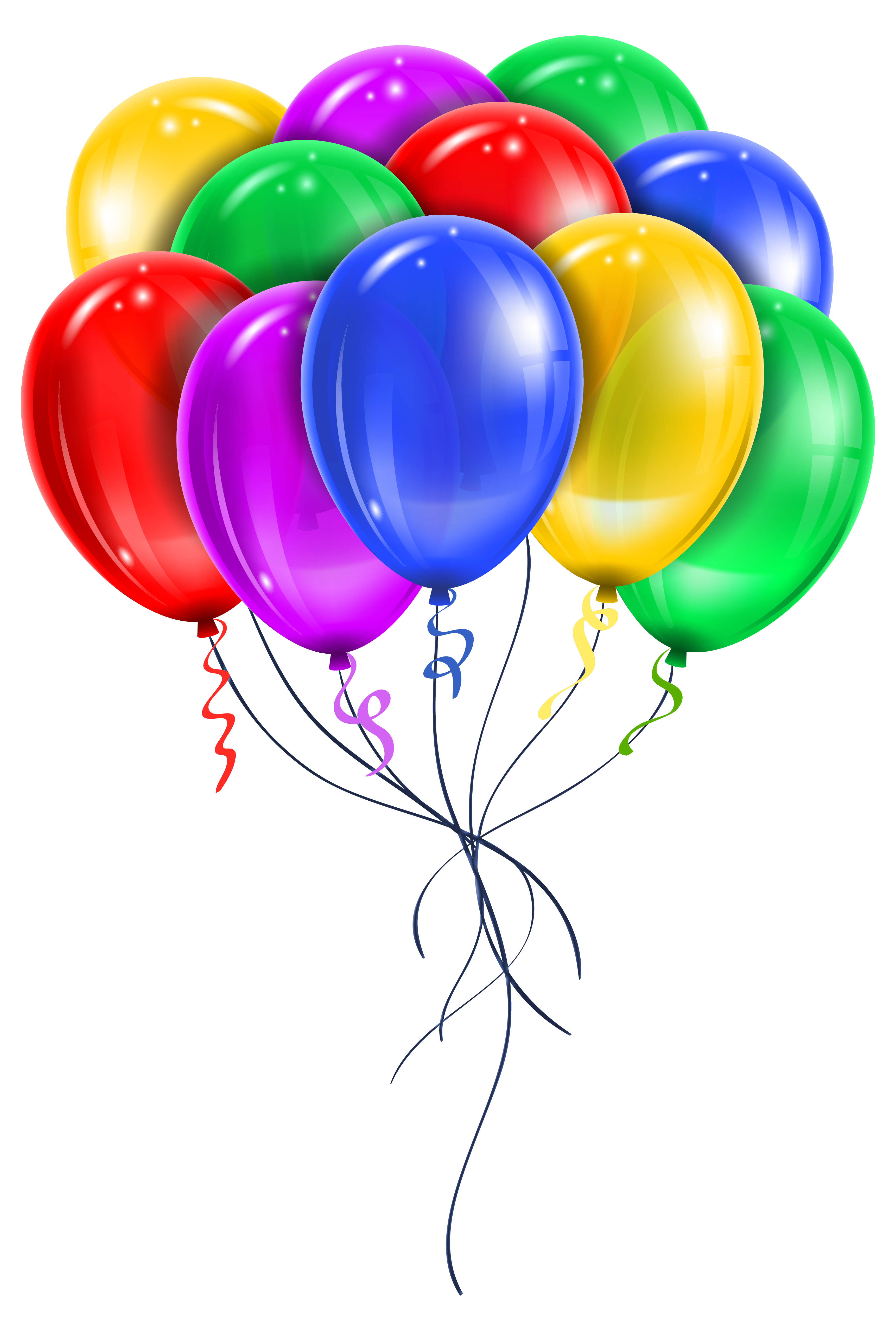 Balloon png images balloon transparent clipart free - Happy birthday balloon images hd ...