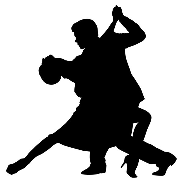 Ballroom Dancing Silhouette download dancing silhouette PNG images