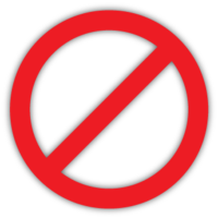 Ban, Stop Icon image #13412