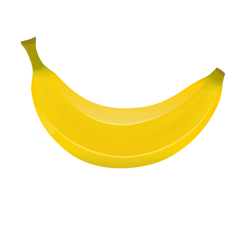 Clipart Banana Collection Png image #27777