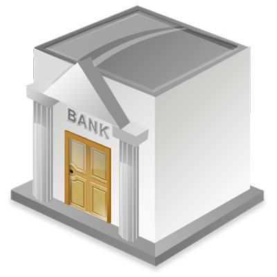 Bank Icon | GIS/GPS/MAP image #5974