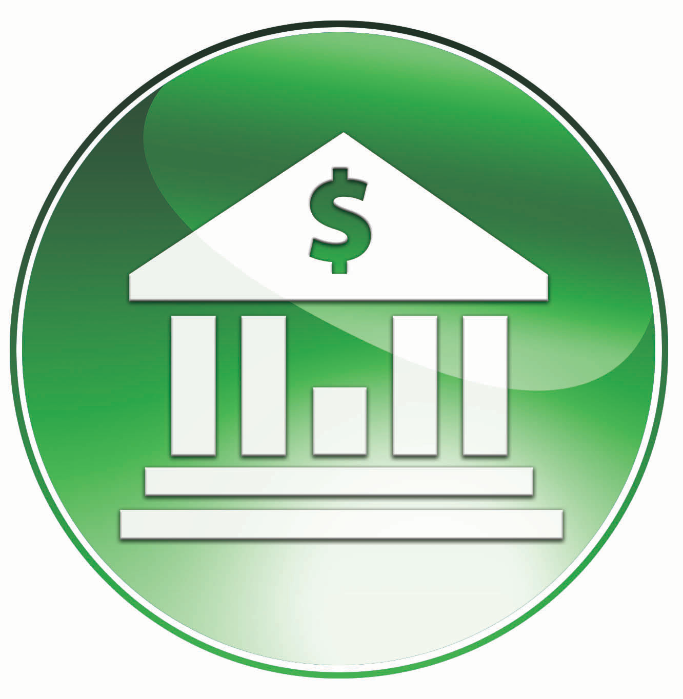 Vector Bank Icon image #5979