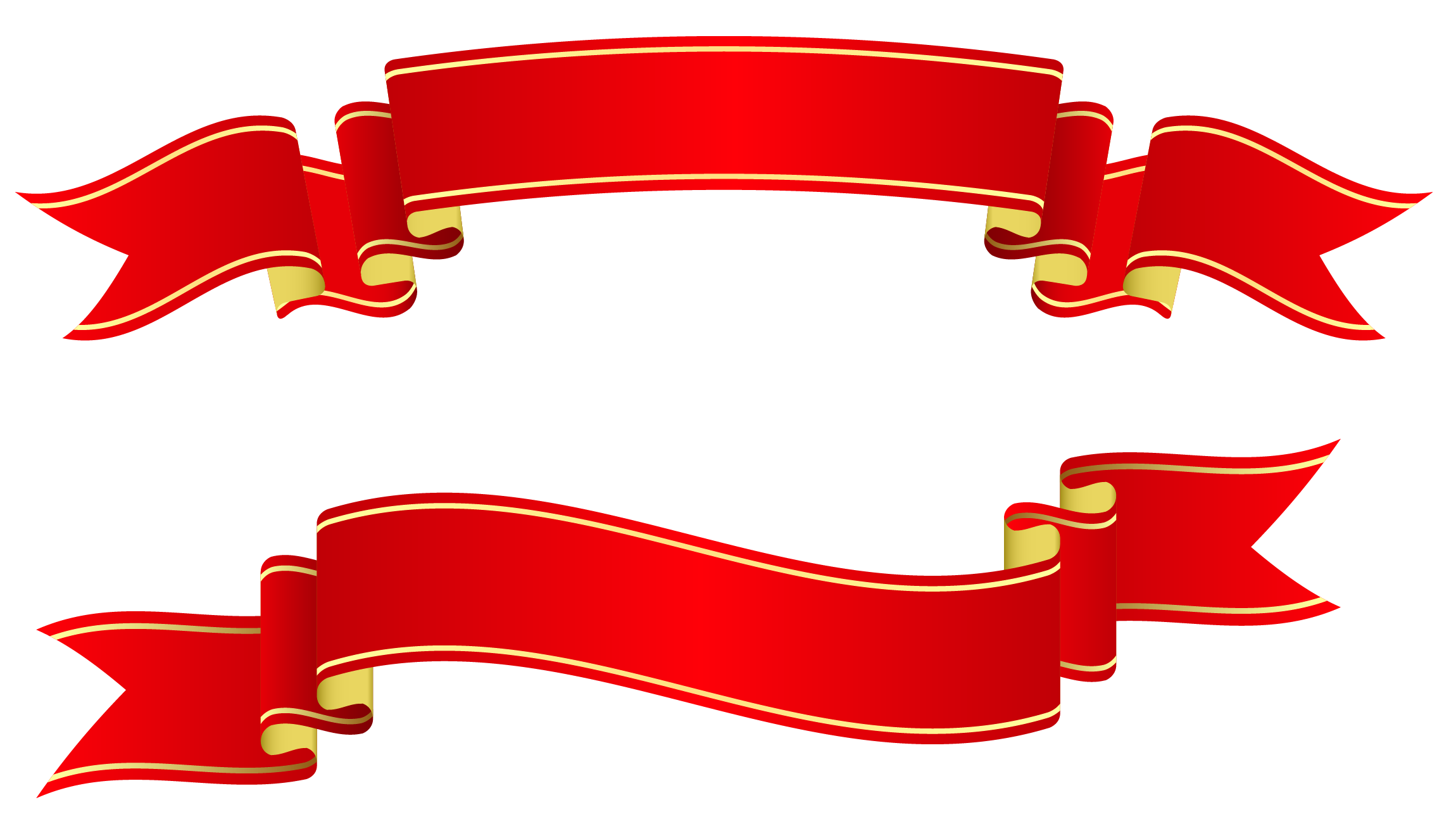 Banner Ribbon Png Red Banners Png Clipart image #809