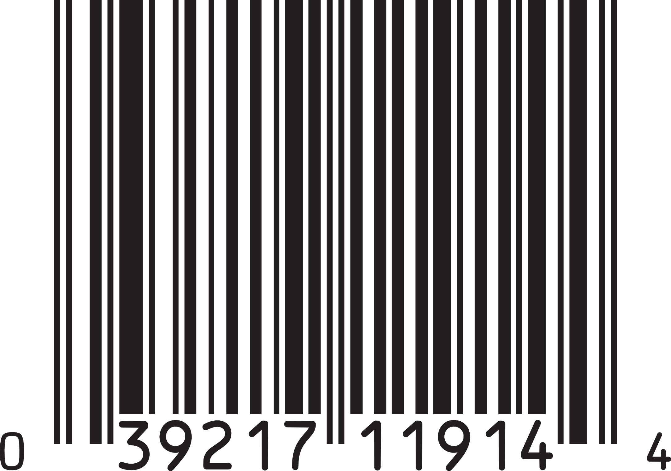 barcode transparent resolution format