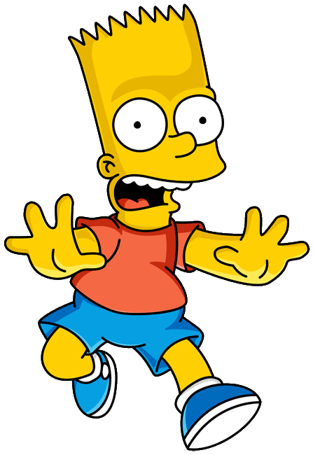 Bart Simpson Png image #39253