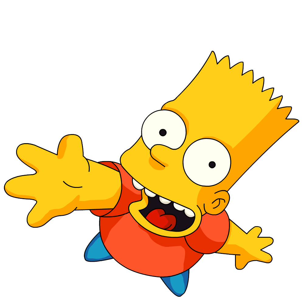 Free Png Vector Bart Simpson Download image #39254