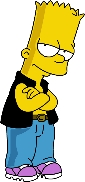 High-quality Bart Simpson Cliparts For Free! image #39271