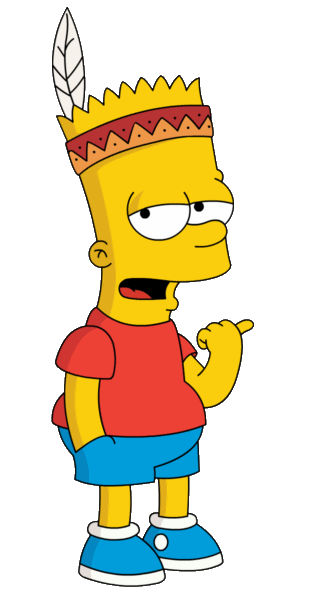 Bart Simpson Png image #39279