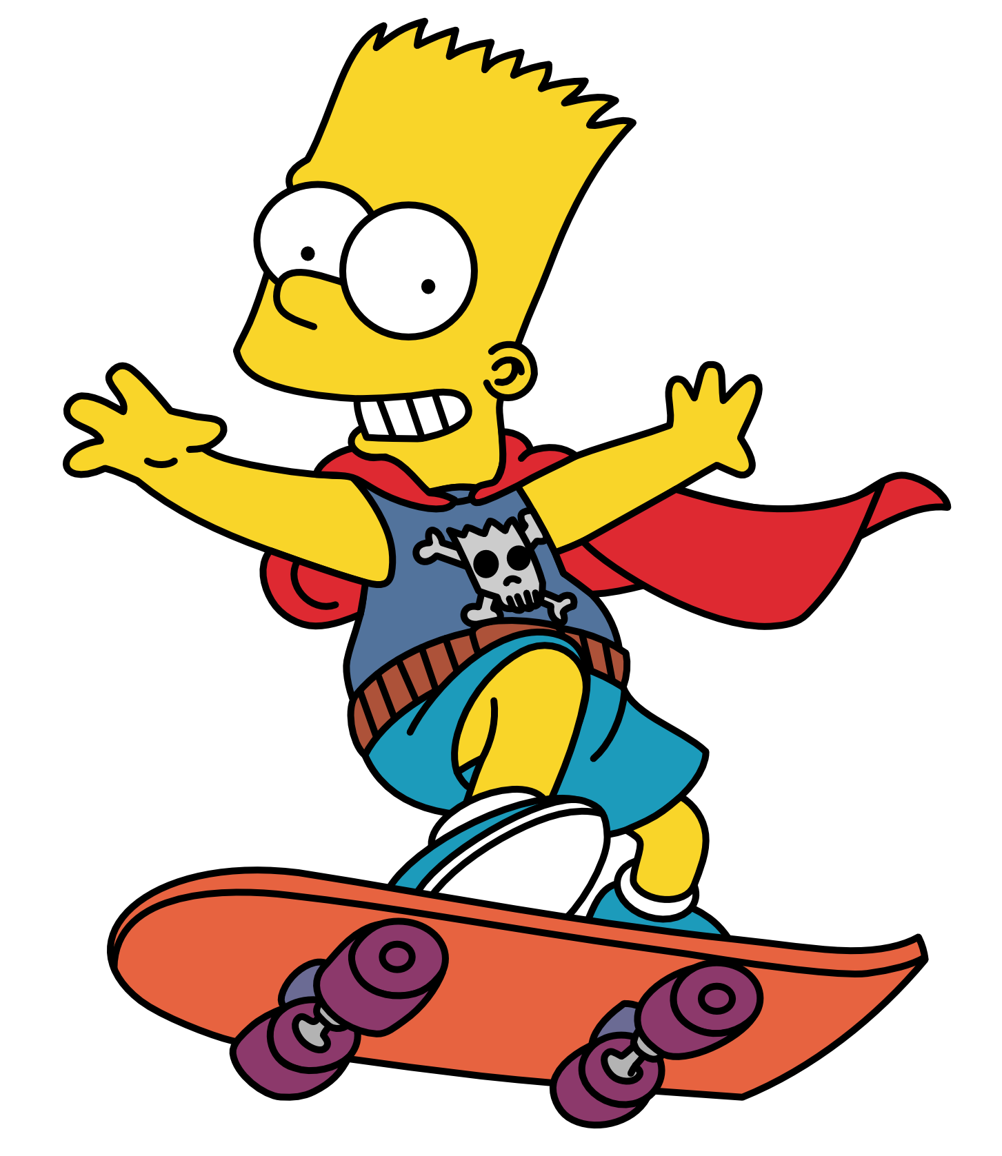 Bart Simpson Png image #39256