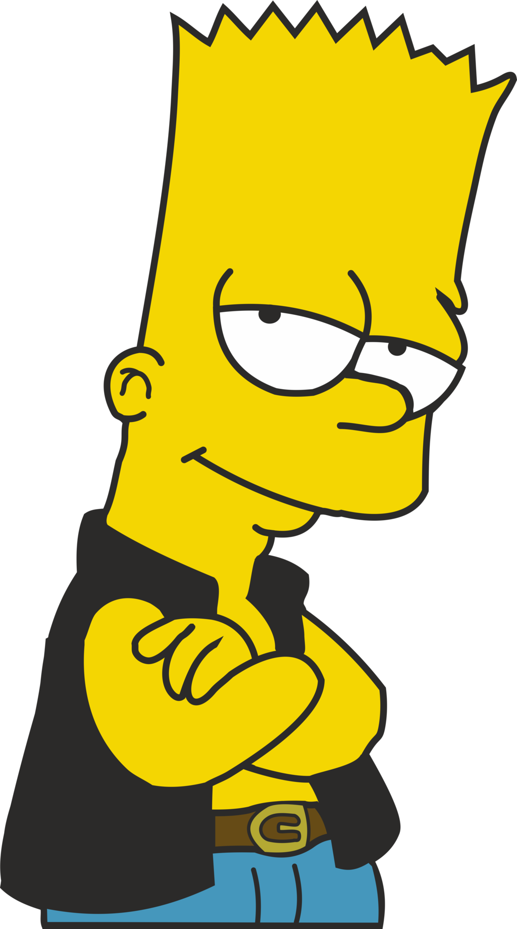 Bart Simpson Png image #39257