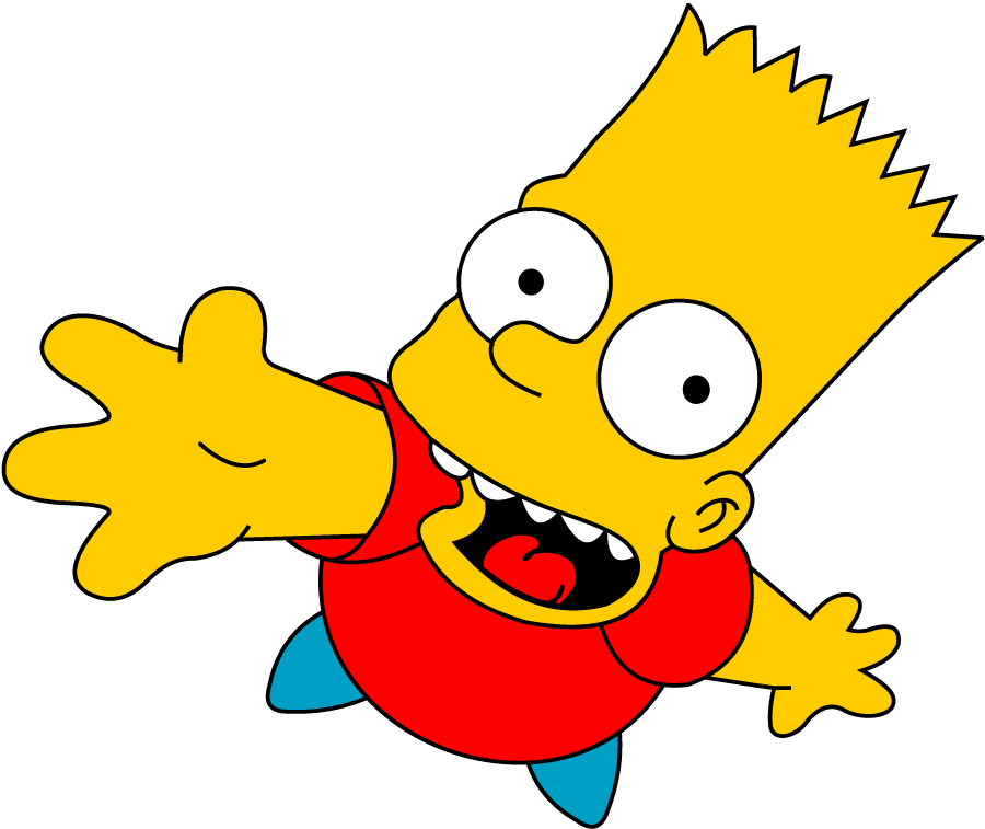 Vector Png Bart Simpson image #39260