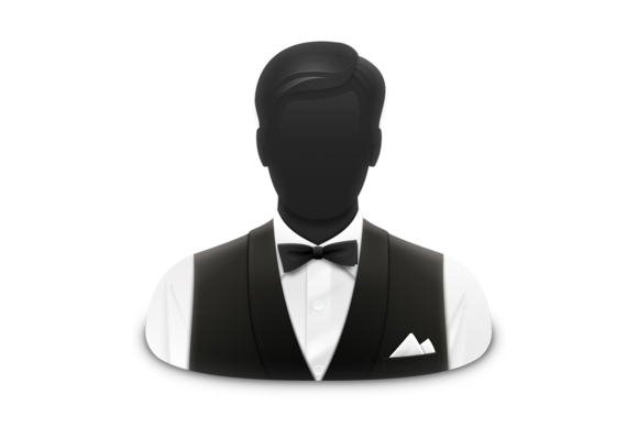 Bartender Simple Png