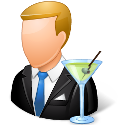 Vector Icon Bartender Png Transparent Background Free Download 108 Freeiconspng