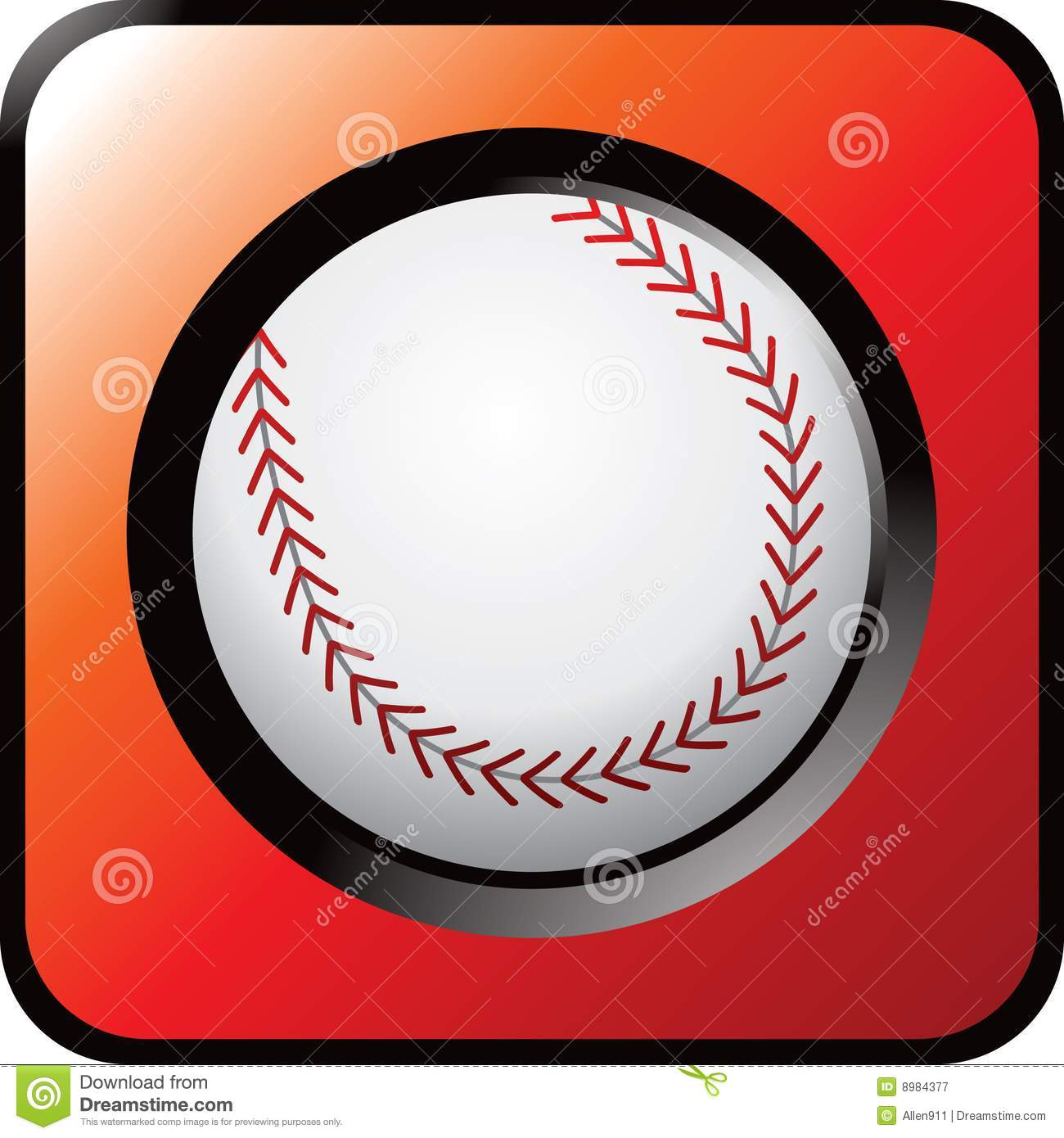 Baseball Icon Royalty Free Stock Photography  Image: 8984377