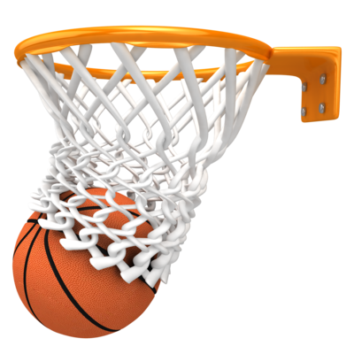 Basketball With Basket Png image #39938