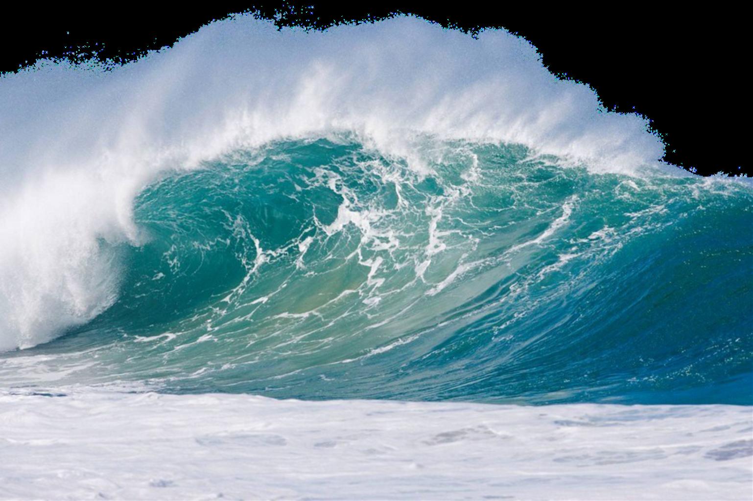 Beach Ocean Waves PNG
